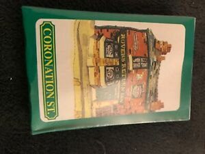 commemorative coronation street souvenir playing cards new sealed