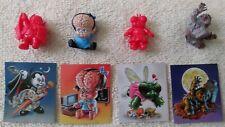 "1"" Garbage Pail Kids GPK Minikins Rubber Figure Sticker Lot Topps 2013 Chase ++"