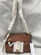 HS16IFCX01 Rebecca Minkoff Mini Mac Cross-Body Cowhide Leather Almond Bag  0070