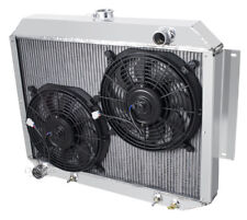 "3 Row Discount Radiator W/ 2 12"" Fans for 1967-1970 Plymouth Fury V8 Engine"
