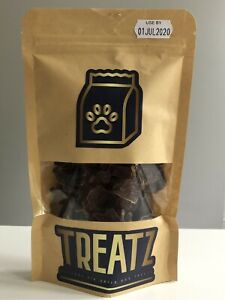 Healthy Deluxe Dog Treats - Air Dried Chicken Hearts **FREE P&P**