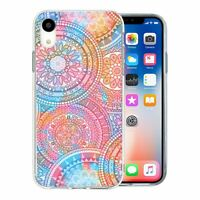 For Apple iPhone XR Silicone Case Mandala Moroccan Pattern - S6902