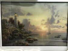 Sea Of Tranquility Lithograph, Thomas Kinkade Framed W/ CoA