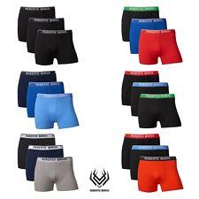 Roberto Barini Herren Boxershorts Unterhose Short Unterwäsche Boxer 3er Set