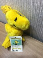 Peanuts Woodstock Soft Toy 8 Inch Plush Charlie Brown Snoopy Collectable NEW