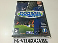 FOOTBALL MANAGER 2005, PC/MAC CD ROM ITA NUOVO