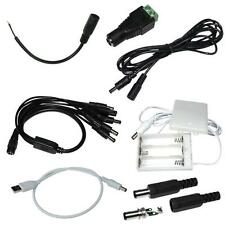 DC Accessory for LED strips: connectors, distributors, extension cables