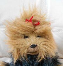 1997 TY CLASSIC YAPPY Yorkie Yorkshire Terrier Dog Plush Stuffed Large MWT