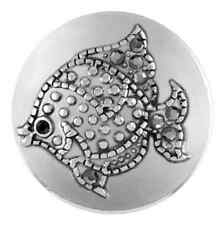 Buy 4, Get 5Th $6.95 Snap Free Ginger Snaps™ Jewelry Argent Fish Sn21-26