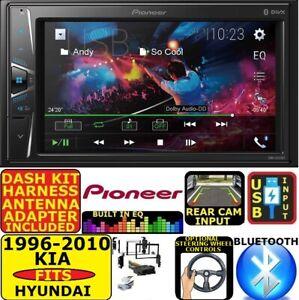 PIONEER TOUCHSCREEN AM/FM/EQ BLUETOOTH USB CAR RADIO STEREO PKG