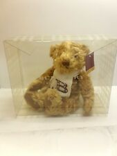 "VTG BURBERRY FRAGRANCE PLUSH TEDDY BEAR 11"" & ""B"" LOGO SCARF BNWT & GIFT BOX"