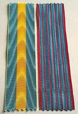 Lot de 2 rubans NEUFS, médaille haute-Silésie et médaille du Liban en 1926.