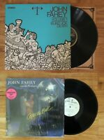 LP: John Fahey: Blind Joe Death Volume 1 + After The Ball: vinly record promo
