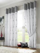 Rideaux gris à motif Floral pour la maison