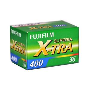 Fujifilm Superia X-Tra ISO 400 Colour 36 Exposure 35mm Film