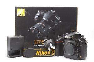 Nikon D750 24.3MP Digital SLR DSLR Camera (Body Only) - Black ***67,230 shots***