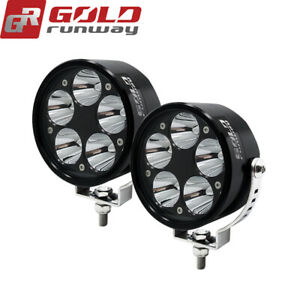 Pair 3.5inch 50W Cree Spot LED Driving Work Light Headlight offroad JEEP 4WD SUV