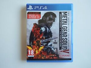 Metal Gear Solid V: The Definitive Edition on PS4 in MINT Condition