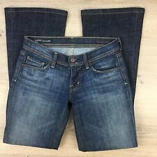 Citizens of Humanity Ingrid Low Waist Flare Womens Jeans Size 25 Actual W29 (Z5)