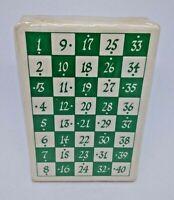 How To Deal Bridge Vintage Playing Cards Caroline's Cards Sealed Deck 1975