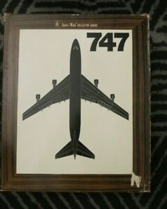 Aero Mini Northwest Airlines Boeing 747 Model with Original Box and Stand