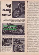 1967 Montesa Sport 250 - Meet the Marquis of Montesa - great article