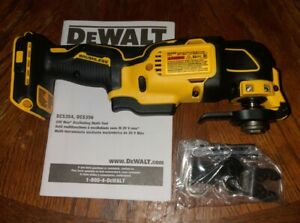 Dewalt 20V Max Li-Ion Brushless Oscillating Multi-tool DCS354 Tool Only NEW!