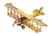 "Curtis JN-4 Jenny Biplane Metal Desk Top Model 11"" WW1 Airplane Aircraft Decor"