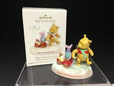 Hallmark Ornament 2012 Winnie the Pooh: Baby's First Christmas