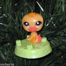 Baby Duck Littlest Pet Shop Custom Christmas Tree Ornament LPS Yellow Duckie