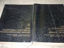 1985 OLDSMOBILE CUSTOM CRUISER Service Shop Repair Workshop Manual Set OEM GM