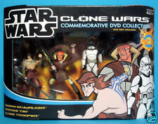 Star Wars Clone Wars Animated 3-Pack Vol. 1 MISB