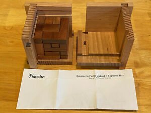 Penta Cuboid T Groove Box Juno Junichi Yananose packing puzzle