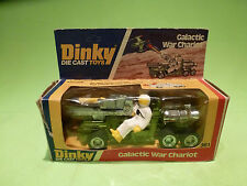 DINKY TOYS 361 GALACTIC WAR CHARIOT - GREEN + WHITE - RARE SELTEN - GOOD COND.