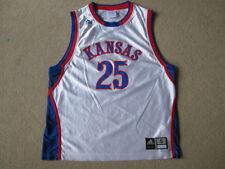 Kansas jayhawks adidas ncaa basketball #25 jersey-débardeur-homme small