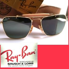 RAY BAN BAUSCH&LOMB VINTAGE  SUNGLASSES  SMALL CARAVAN W1347 NOS NEW OLD STOCK