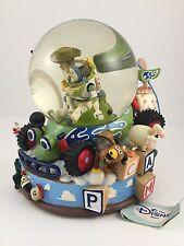 Toy Story YOU'VE GOT A FRIEND IN ME Disney Snow Globe WOODY BUZZ REX HAMM BOPEEP