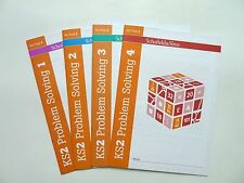 Problem Solving set of 4 Workbook Educational Children Ages 7-11 Primary KS2 New