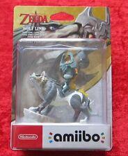 The Legend of Zelda Wolf Link Twilight Princess amiibo Figur, Neu-OVP