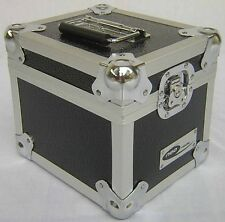 "7"" Vinyl Single Record Storage Case Box for 100 By Neo Media in Black Aluminium"