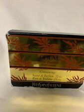 OPIUM Parfum Vintage secret treasure miniature.11oz and .25 oz set