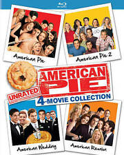 American Pie: Movie Collection - Unrated (Blu-ray Disc, 2016, 4-Disc Set)