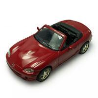 1:43 Mazda MX-5 Cabrio Metall Modellauto Spielzeug Sammlung Rot Geschenk Kinder