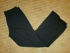 Susana Monaco Wool Blend Black Stripe Trouser Pants- Size 6- EUC