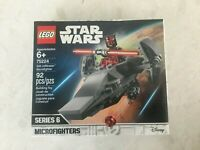 Lego 75224 Star Wars Series 6 Microfighters Darth Maul Sith Infiltrator Retired
