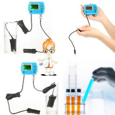 Water Quality Tester Monitor Online pH / EC Meter with EC Electrode EU Plug O9M2