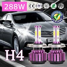 288W LED Cree Scheinwerfer Birne H4 HB2 9003 4 Sides Chip Hi/Lo Für HYUNDAI Atos