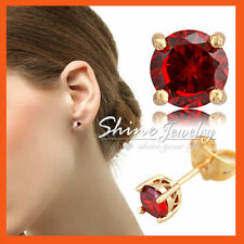 Unbranded Yellow Gold Filled Diamond Stud Fashion Earrings