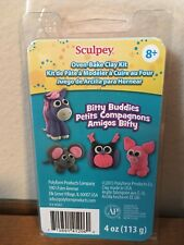 Premo Sculpey Oven-Baked Clay Kit Bitty Buddies - Brand New