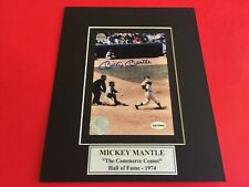 Mickey Mantle Signed 4x6 Photo with Certificate of Authenticity-COA
